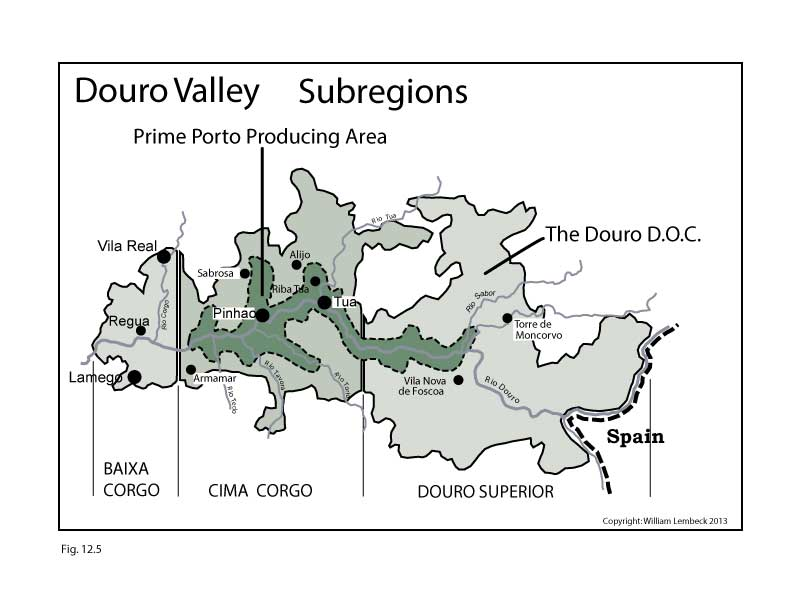 Portugal-Douro-Valley-Wine-Maps-SWE